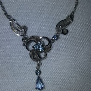 Ann Lee sterling necklace